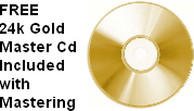 Phantom City Studio 24k Gold master cd mastering studio in Orlando, Florida